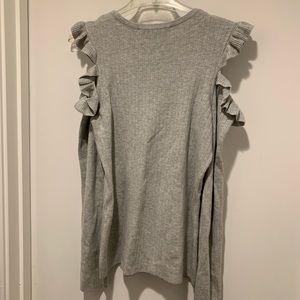 White House Black Market Sweaters - White House Black Market Cold Shoulder Sweater